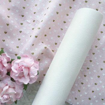 Искусственная замша стрейч, цвет белый 26*25 см