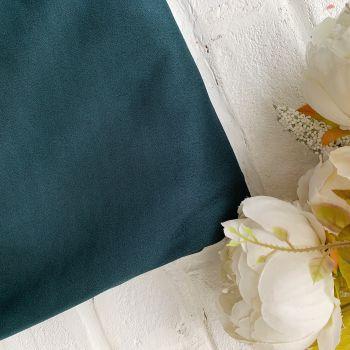 Искусственная замша стрейч на дайвинге, цвет темно-зеленый 25*30
