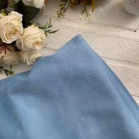 Искусственная замша стрейч на трикотажной основе, цвет голубой 25*30