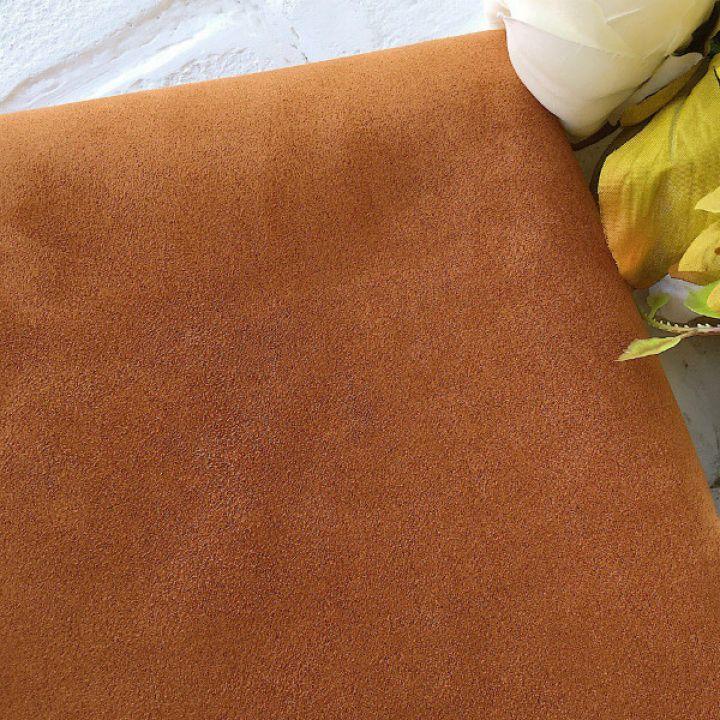 Искусственная замша стрейч, цвет светло-коричневый 30*25 см