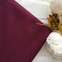 Искусственная замша стрейч двухсторонняя, цвет марсала 25*30 см