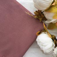 Искусственная замша стрейч двухсторонняя, цвет пастельный пепельно-розовый 25*30 см